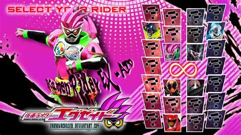 kamen rider  aid wallpaper  unknownchaser  deviantart