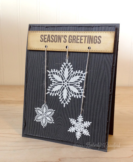 MFT Nov Preview Sophisticated Snowflakes by Kimberly Crawford