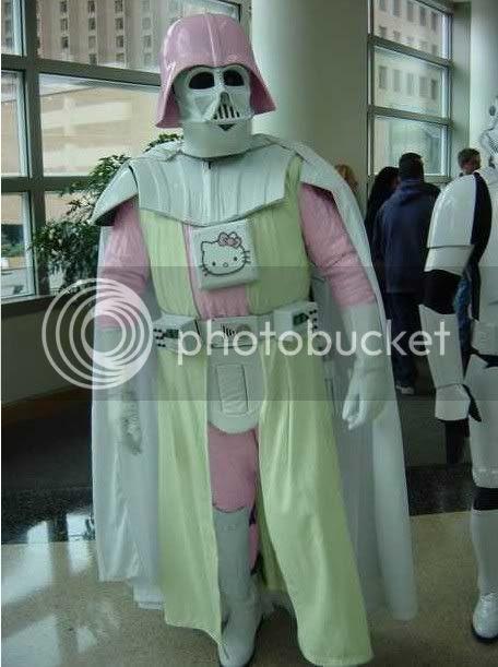 Darth Vader in pink