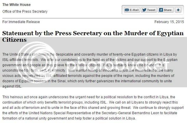 White House Statement on Libya Beheadings photo WH Statement on Egyptian Christians_zpsefp1gud4.jpg