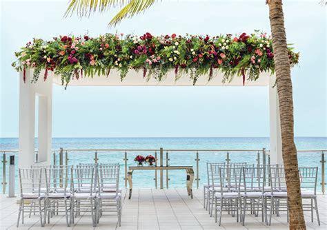 Riu Cancun Gazebo Wedding   Destination Wedding Mexico
