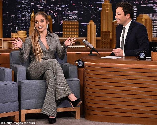 Segunda temporada: Jennifer estava promovendo a próxima segunda temporada de Shades Of Blue