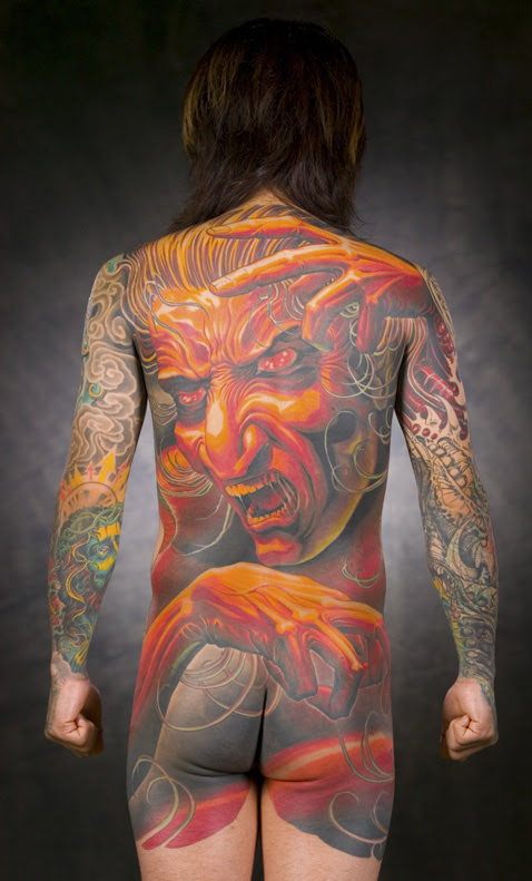 He is the best tattoo artist that has ewer lived. I dont know what to say.