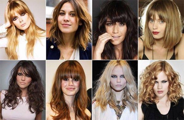corte de cabelo inverno 2011 cabelo médio longo Cortes de cabelo para o inverno 2011
