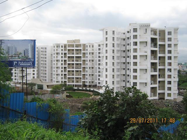 Paranjape Schemes' Gloria Bavdhan! - Visit to Paranjape Schemes' Gloria Grace, 2 BHK & 3 BHK Flats, at Bavdhan, on Paud Road, Kothrud Annexe, Pune