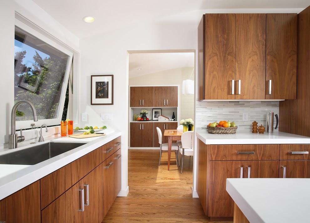 Mid Century Modern Kitchen Cabinets Recommendation - HomesFeed