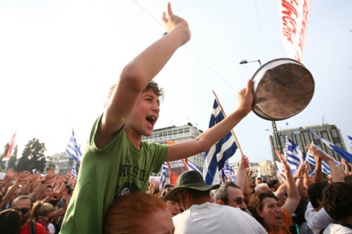 Post image for Are the Greek protests finally starting to pay off?