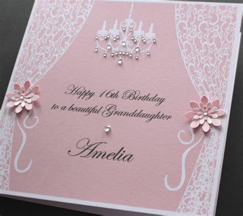 Handmade Personalised VINTAGE STYLE Birthday card (many