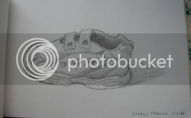 A shoe!