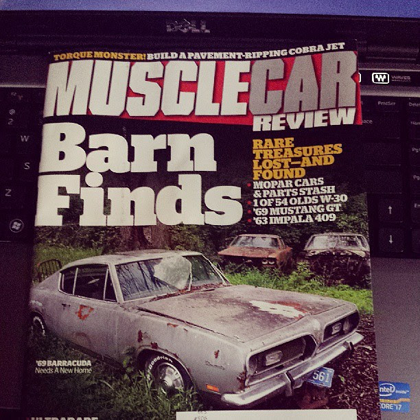 My first cover!!!!!!!! #barnfind #mcr