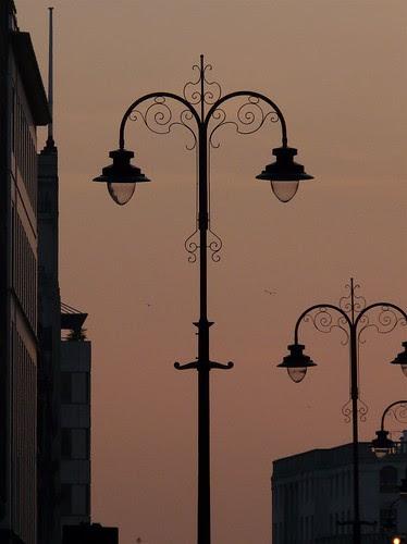Strand street lights