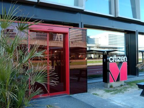 CitizenM Hotel Entrance
