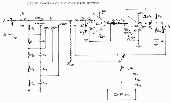 Voltmeter Attenuator Rectifier