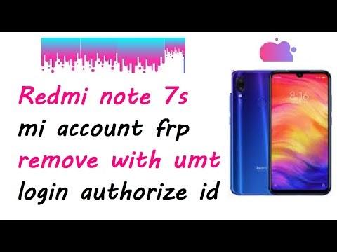 Redmi Note 7s (Lavender) mi account unlock free file | Redmi note 7s mi account frp unlock by softichnic