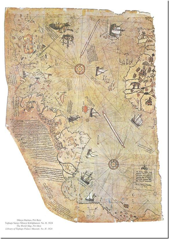 4 Mapa Piri Reis