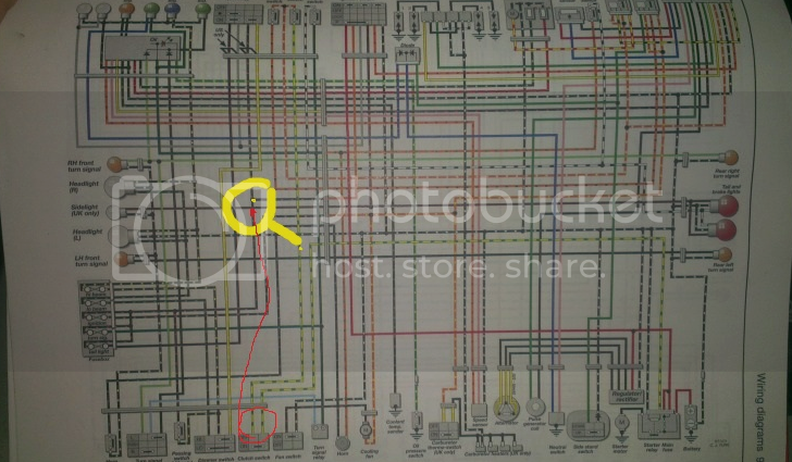 need wiring diagram for 1997 gsxr 600 (needs to have white ...