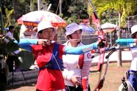 Vietnam, Archery, Hanoi, six countries, national archery squad in 2013