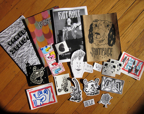 big collab zine pack for sale