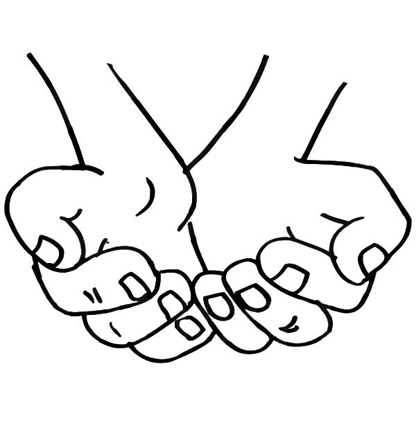 Praying Hands Drawing Step By Step At Getdrawingscom Free For