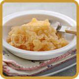 Nectarine and Oolong Tea Granita