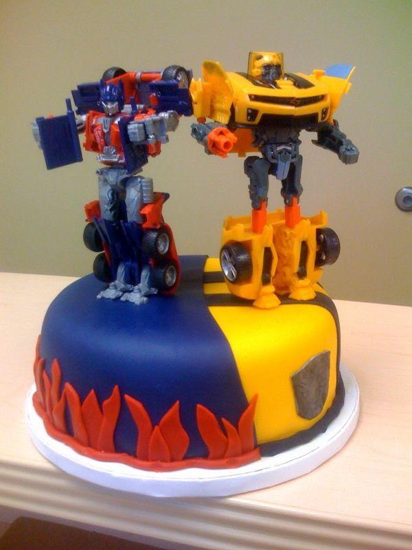 Transformers — Children's Birthday Cakes