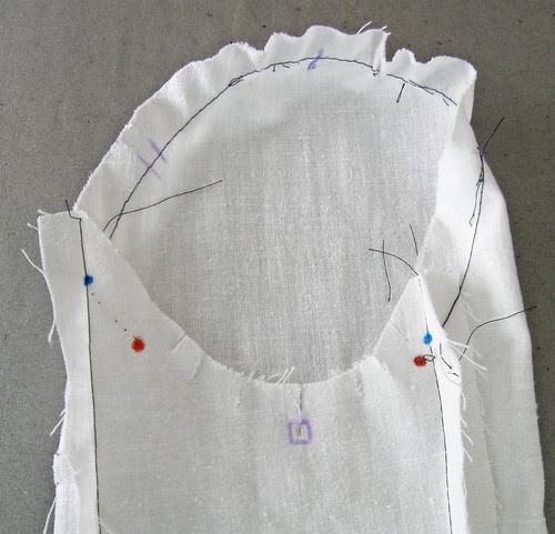 sleeve muslin 2