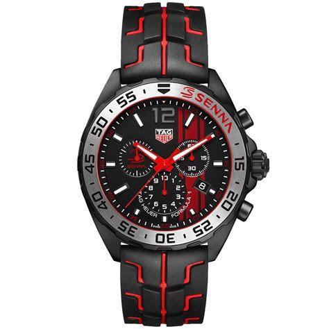 TAG Heuer Formula 1 Senna Special Edition Chronograph Watch