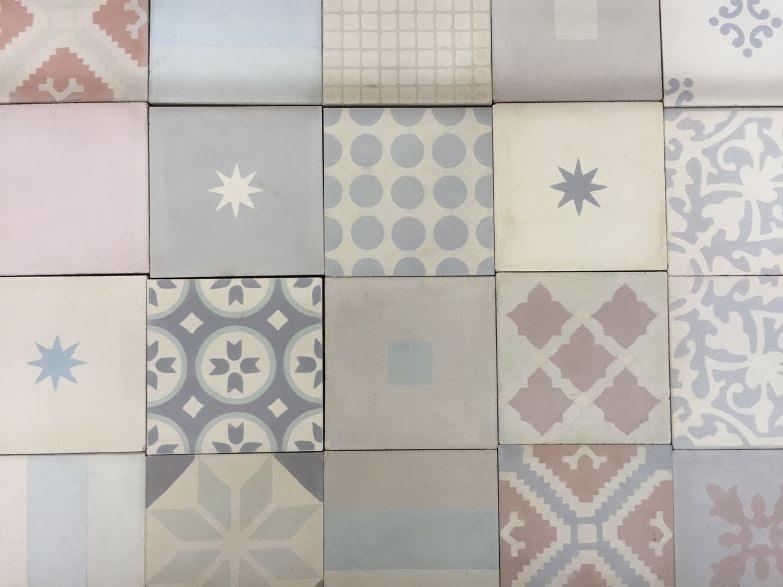 Mosaico de baldosas hidráulicas