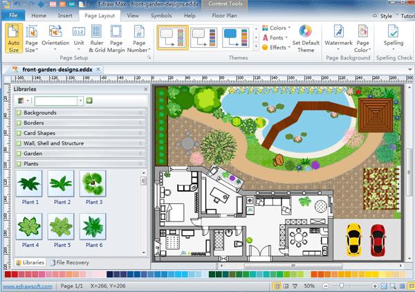 2d floorplan drawing software