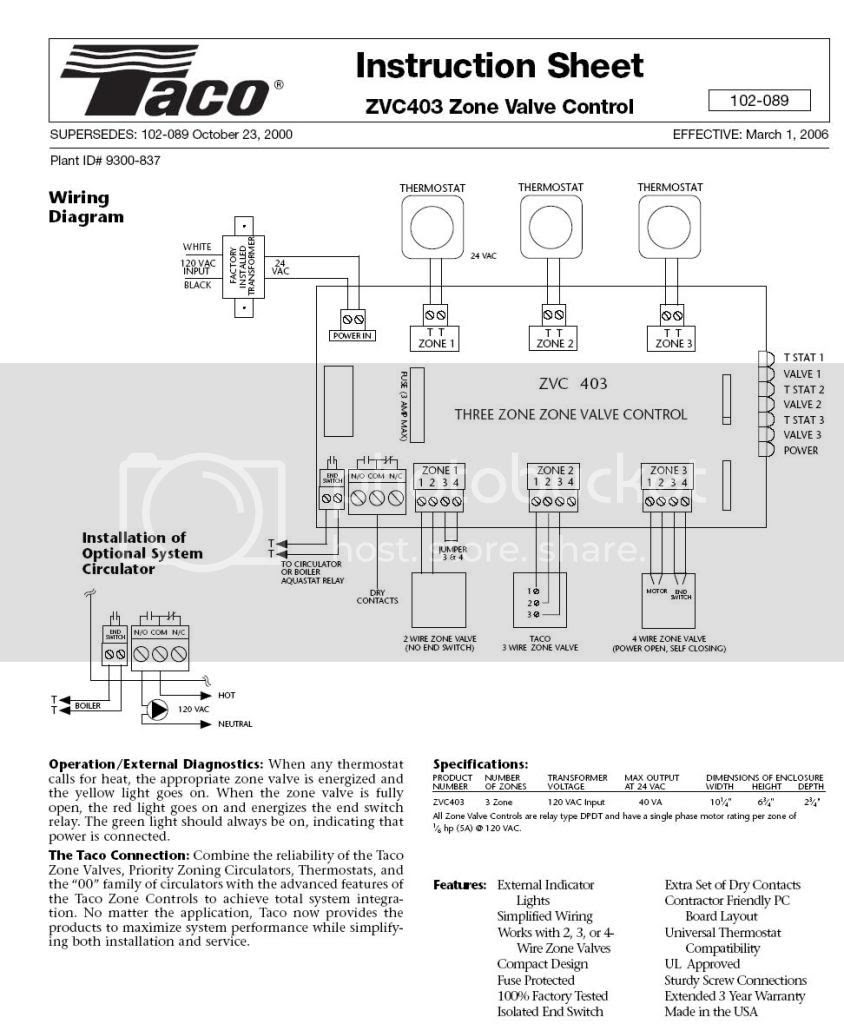 Thermostat Upgrade On 3 Wire Hydronic System Diy Home Improvement Forum