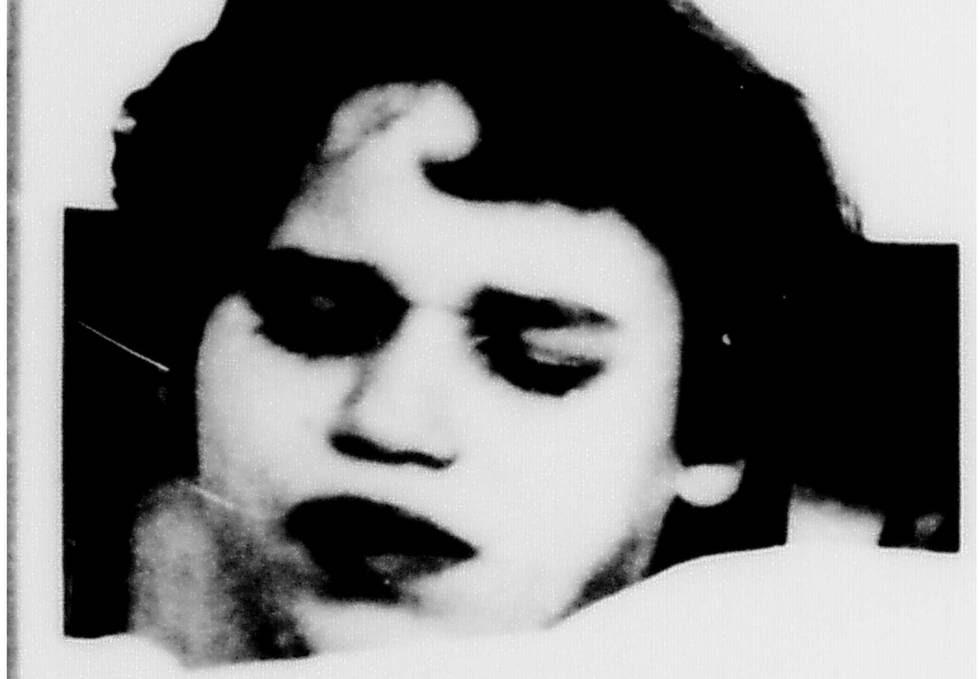 Foto inédita de la ficha hospitalaria de Ernestine D., asesinada en el psiquiátrico de Kaufbeuren cuando tenía 13 años