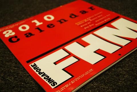 FHM Singapore 2010 Calendar Girls
