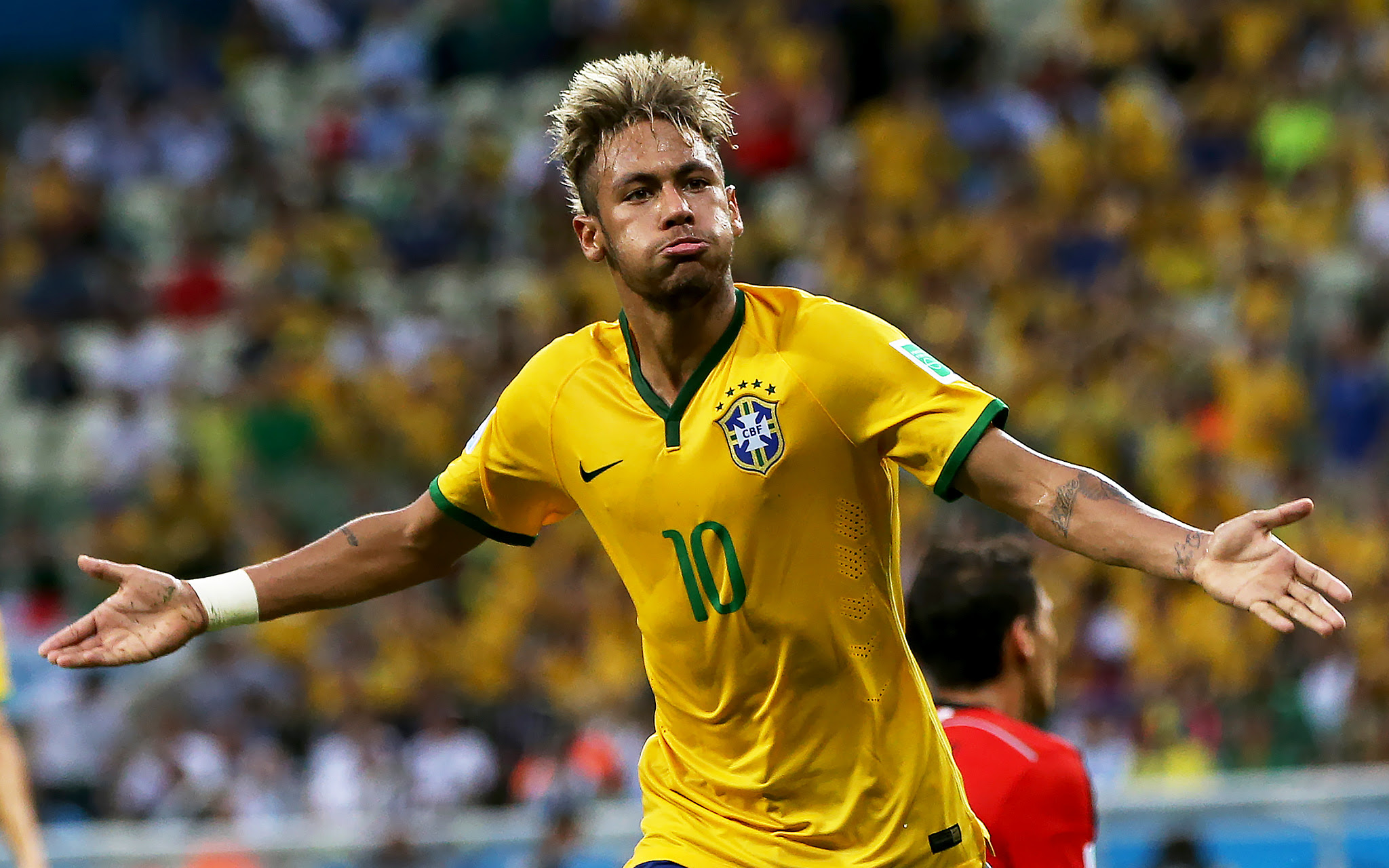 Neymar Jr. (Brazil) - World Cup Hair - ESPN