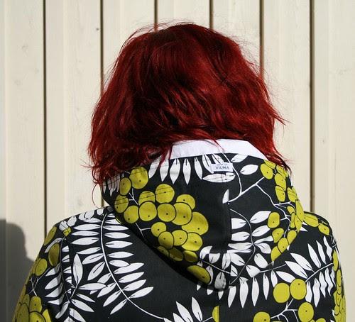 Spring coat - hood