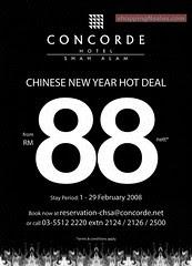 20080128 Concorde CNY Hot Deal