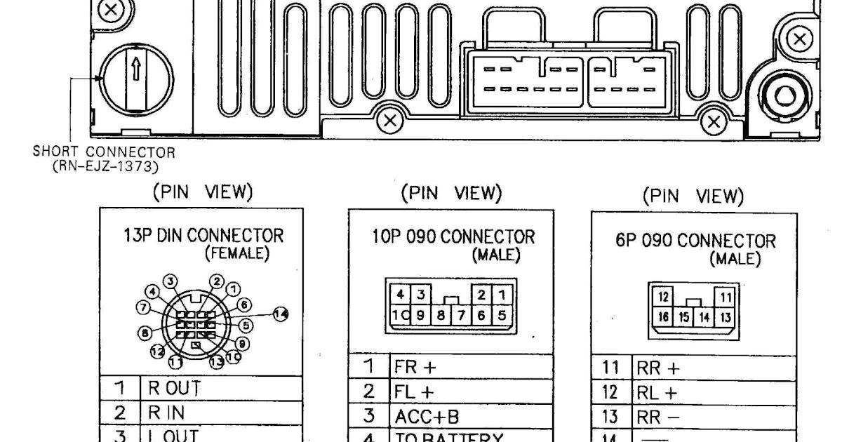 Wiring Diagram Delphi Radio