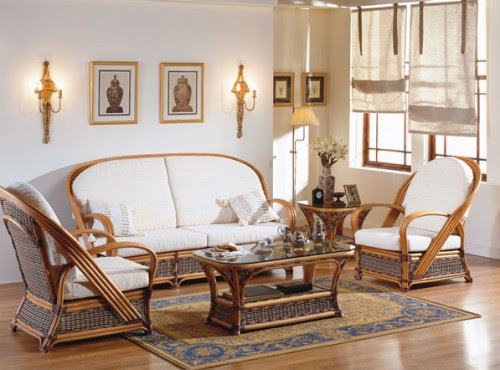 Buy Wicker and Rattan Furniture for Living Room: Unicane ...