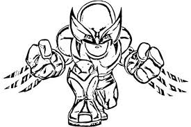 hero squad coloring pages - photo#33