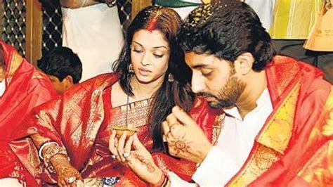 Auspicious for wedding? Ask Abhishek Bachchan Aishwarya Rai