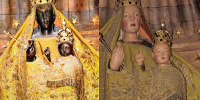 Image of Chartres' 'Black Madonna'