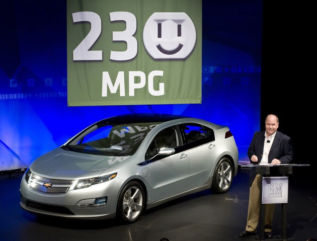 2011 Chevrolet Volt will get 230 mpg city!