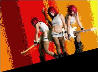 Creating a Grunge Rock Poster image 10