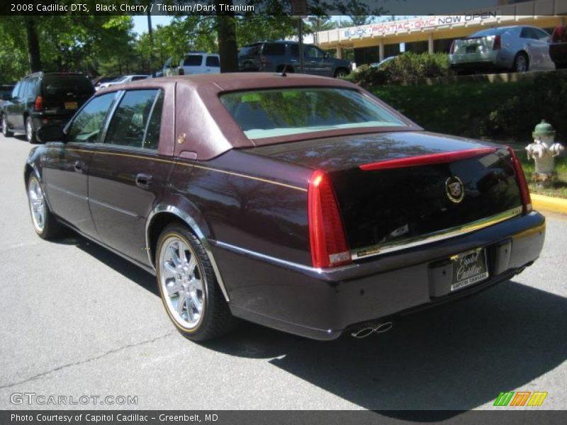 2008 Cadillac DTS in Black Cherry Photo No. 29722115 ...