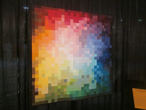 """""""Pixelated Color Wheel"""" by Kati Spencer of Taylorsville, UT"""