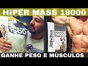 Hiper Mass 19000 Athletica Nutrition o Novo Hipercalórico Bom Barato e Gostoso