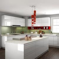 Pearl White Melamine Paint For Kitchen Cabinets With Soft ...