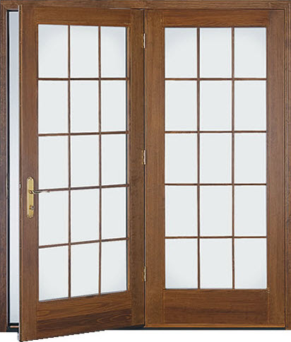 Hinged Patio Doors | The Siding Company | St Louis