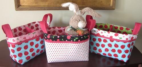 Divided Baskets for Easter