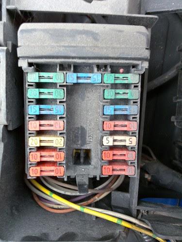Peugeot 106 Fuse Box