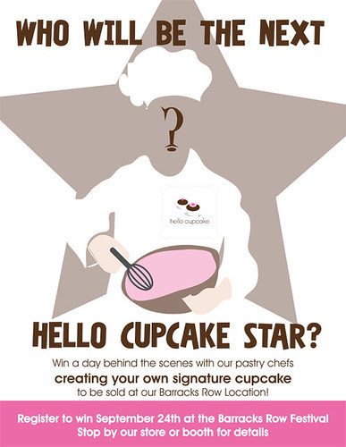 Fwd: The Next Hello Cupcake Star challenge launches Saturday at Hello Cupcake by Rachel from Cupcakes Take the Cake